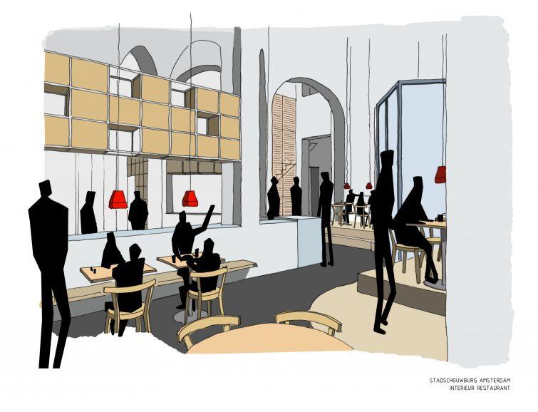 Interieur SSBA restaurant